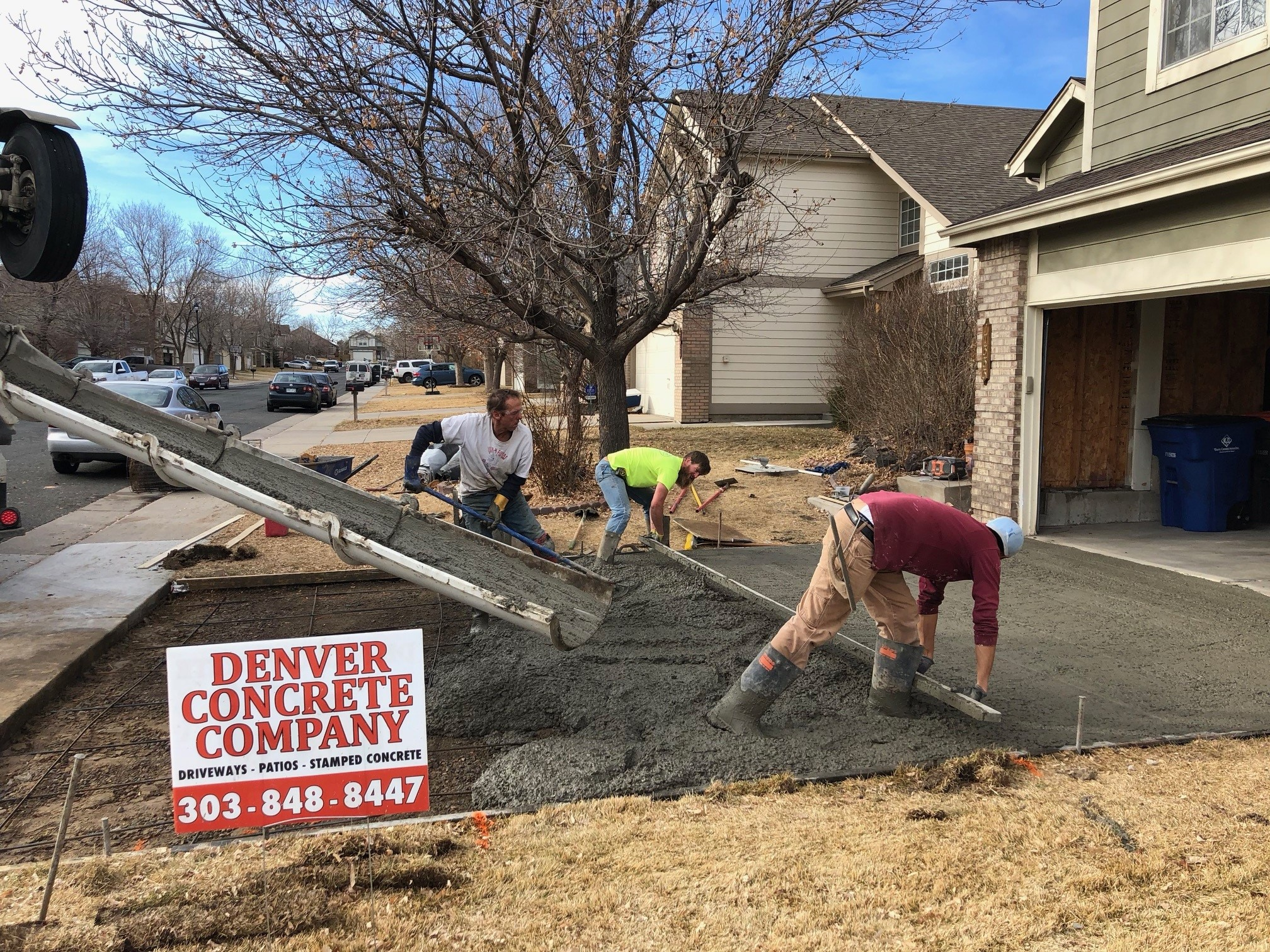 Driveway Replacement Denver
