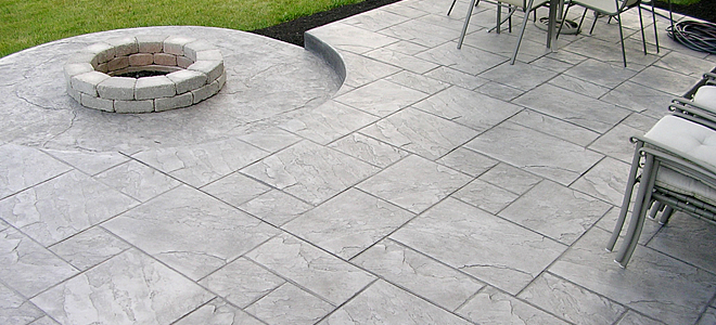 Stamped concrete services in Denver, CO