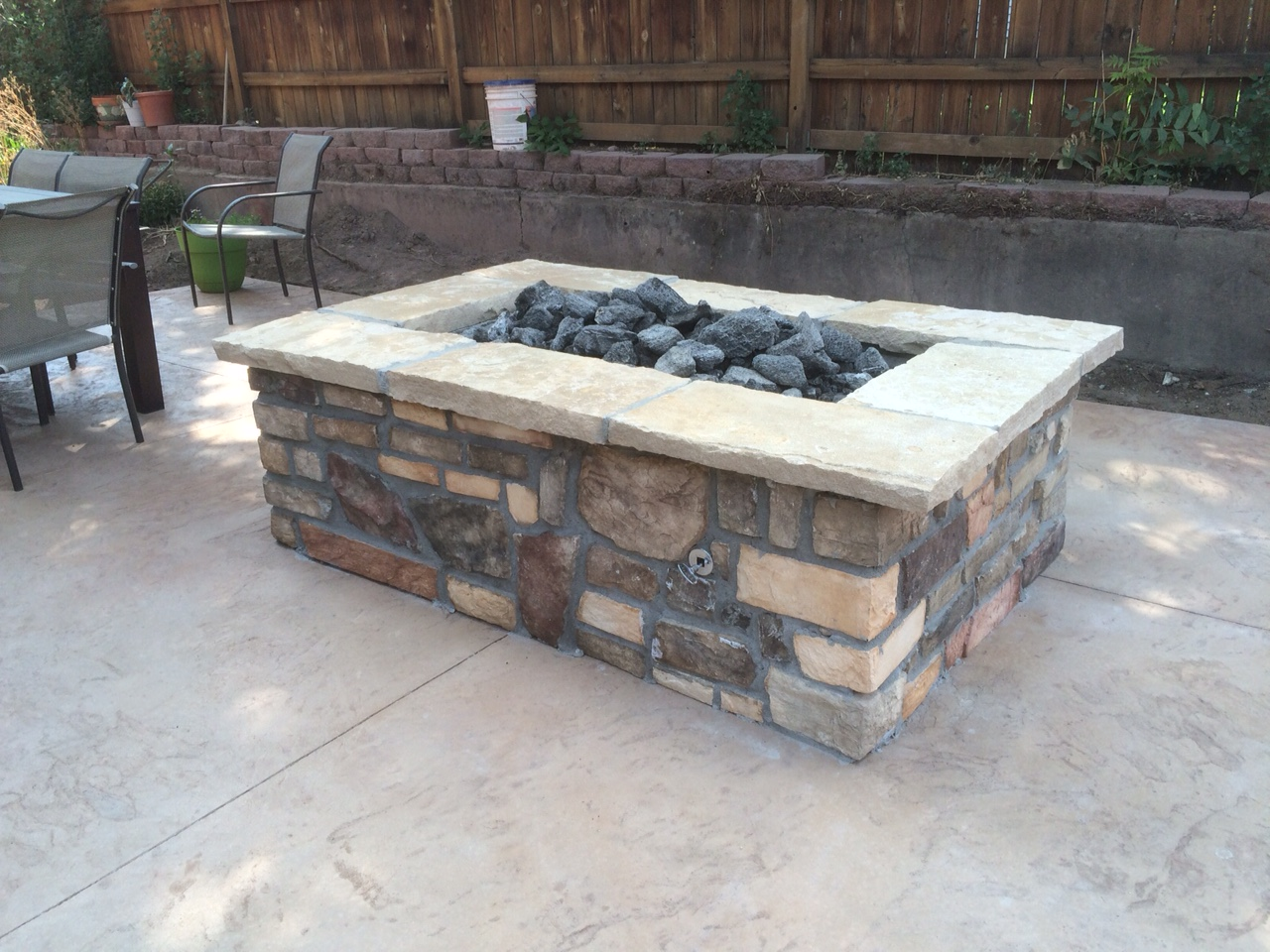 Denver Gas Fire pits