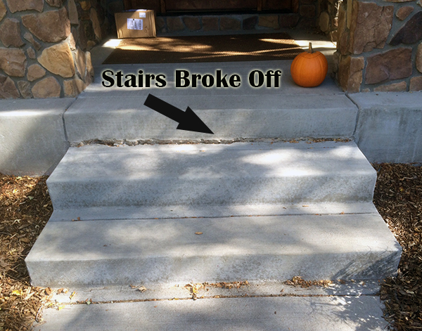 Concrete Stair replacement
