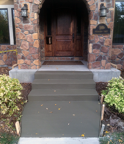 New Concrete Steps - Denver, CO