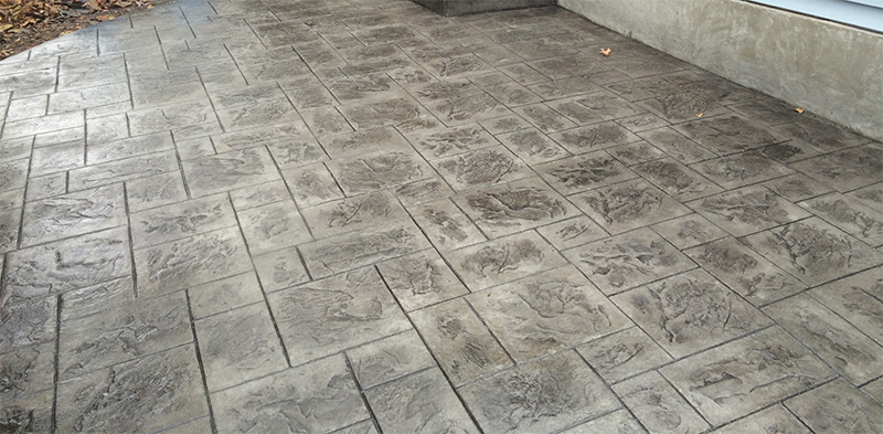 Stamped Concrete Patio in Denver, CO