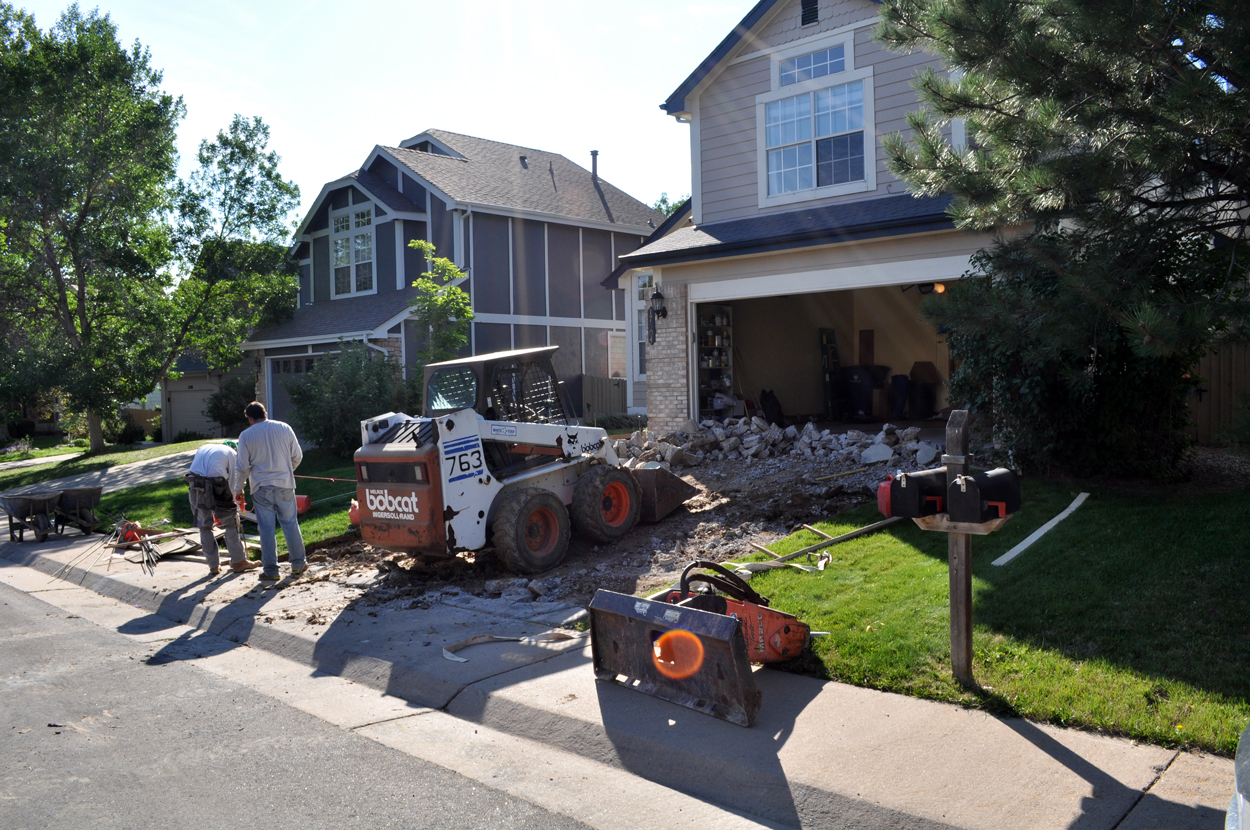 concrete removal services