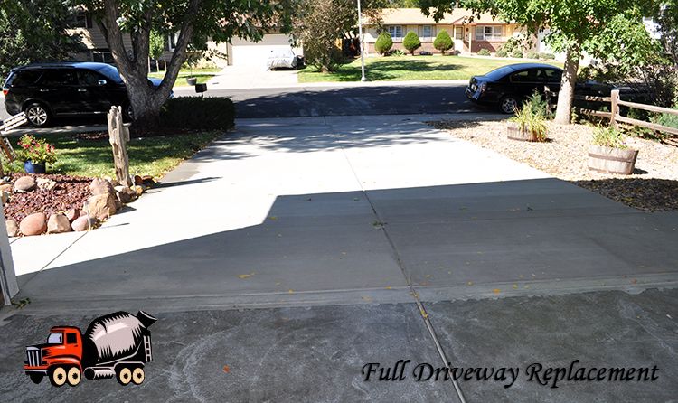 Broomfield Driveway Replacement