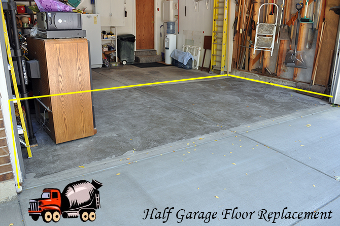 Garage Floor Replacement Broomfield Colorado