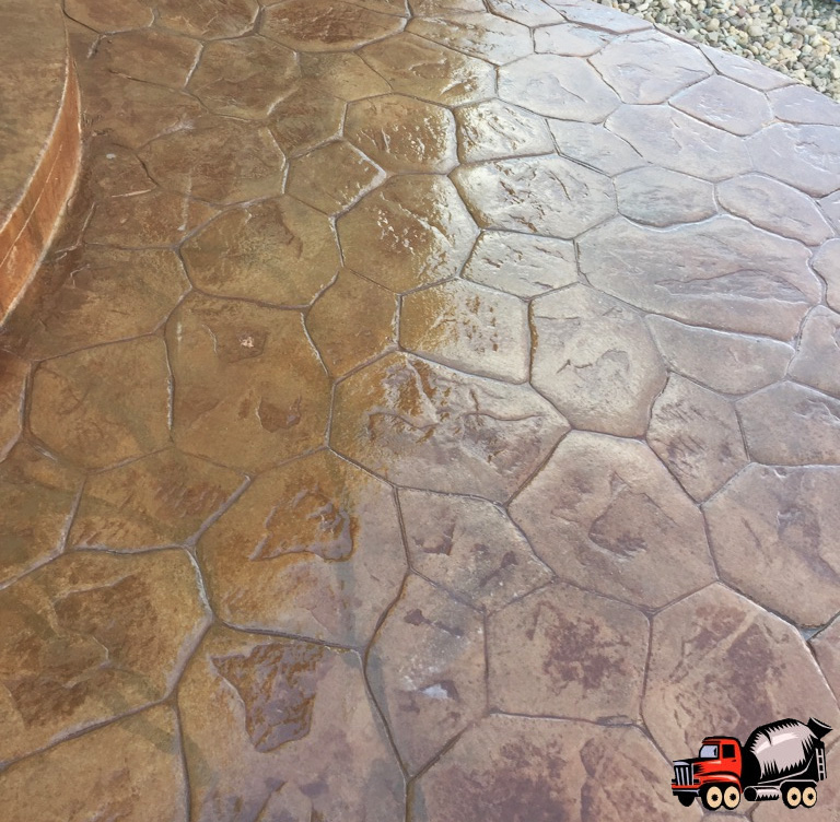 Stamped Concrete Patio in Aurora, CO